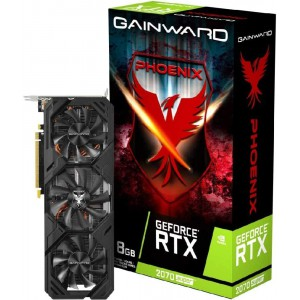 Gainward GeForce RTX 2070 Super Phoenix - Scheda Grafica 8 GB GDDR6, 3X DisplayPort / 1x HDMI
